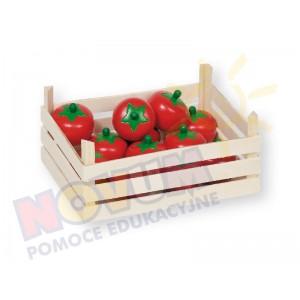 Pomidory w skrzynce