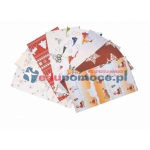 Boże Narodzenie - papier z motywami świątecznymi