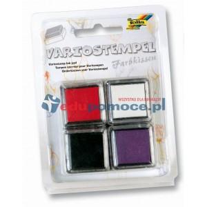 Poduszki z kolorowym tuszem I