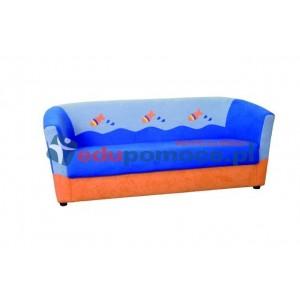 Minikomplet wypoczynkowy RYBKA - kanapa potrójna