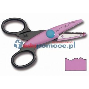 Nożyczki wzorki L - rwane