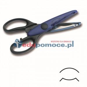 Nożyczki rogowe Ł - zaokrąglone