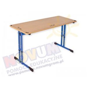 Stolik regulowany typu C wysokość od 64 do 76 cm