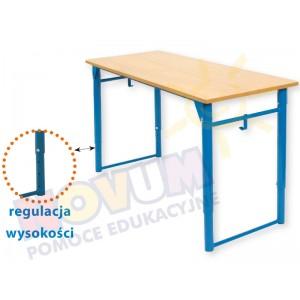 Stolik regulowany składany typu NV wysokość od 64 do 76 cm