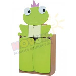 Żabka wysoka - szafka pastelowa