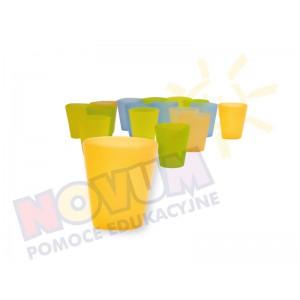 Kolorowe kubeczki