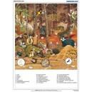 Ekosystem lasu - tablica ścienna