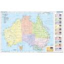 Australia - mapa polityczna