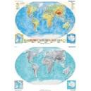 DUO Świat fizyczny z elem. ekologii / mapa ćwicz. hipsometryczna