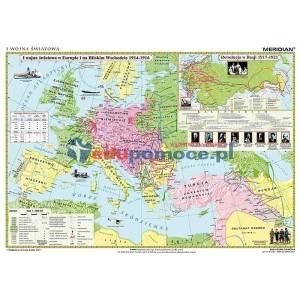 I Wojna Światowa 1914-16 - tablica ścienna