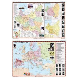 DUO Polska w latach 1919-1939 / Europa w latach 1919-1939 - tablica ścienna