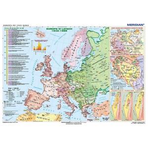 Europa po 1945 r. - tablica ścienna