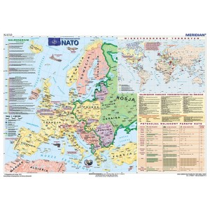 NATO - tablica ścienna