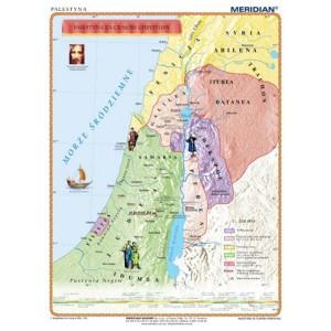 Palestyna za czasów Chrystusa - tablica ścienna