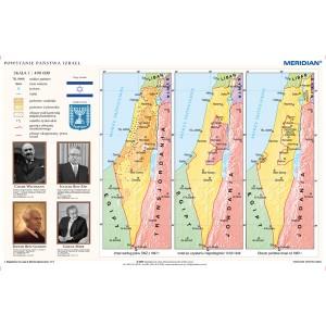 Powstanie państwa Izrael - tablica ścienna
