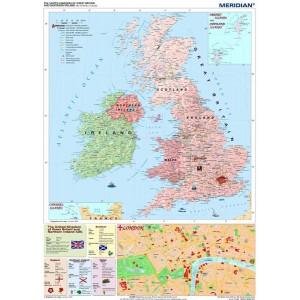 The British Isles political - tablica ścienna