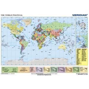 World political - tablica ścienna