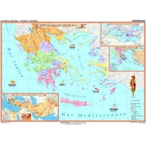 La Grecia Antigua - Estado - tablica ścienna
