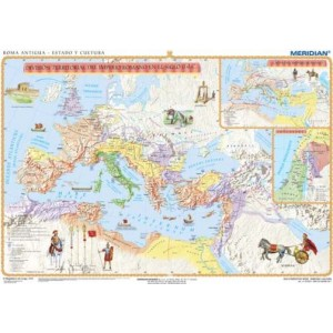 Roma Antigua - Cultura - tablica ścienna