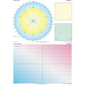 DUO Koordinatensystem / Kriesdiagramm - tablica ścienna