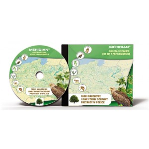 Parki narodowe i inne formy ochrony przyrody w Polsce - płyta multimedialna