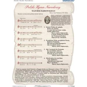 Hymn Narodowy - tablica ścienna