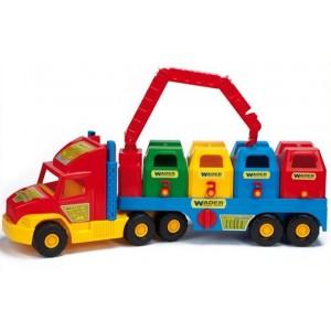 Samochód - śmieciarka
