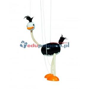Struś - marionetka