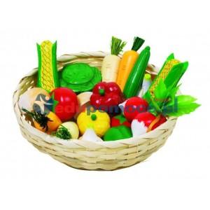 Warzywa w koszyczku