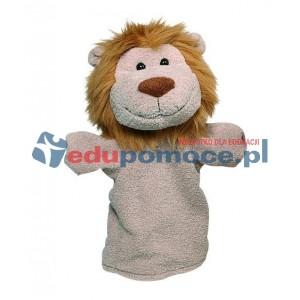 Pacynka - dzikie zwierzęta lew