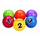 Piłeczki do żonglowania 6 szt.