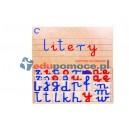 Duży ruchomy alfabet I