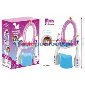 Princess - Toaletka z akcesoriami