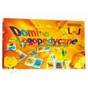 Domino logopedyczne obrazkowo-wyrazowe L-J
