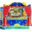 Kartonowy teatrzyk ze zmienianymi dekoracjami