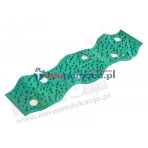 Jeżyk - mata korekcyjno-masująca - zielona