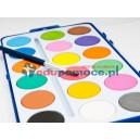 Akwarele, zestaw 18 kolorów