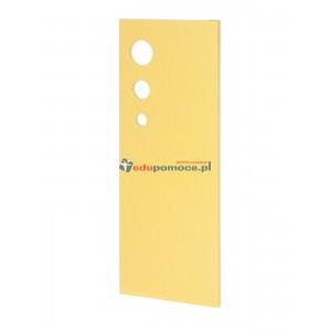 Drzwiczki Bańka żółty