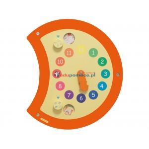 Aplikacja ścienna Biedronka zegar