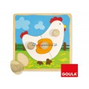 Baby puzzle Kurka