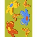 Dywan Motyle - zielony 160x220 cm