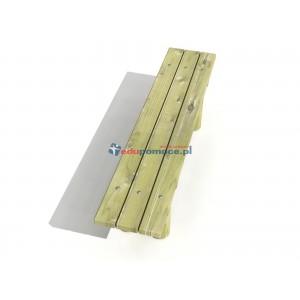 Ławka z bali przenośna (5002S)